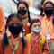 People Wearing Protective Mask Following Few Positive Cases Of Coronavirus In India