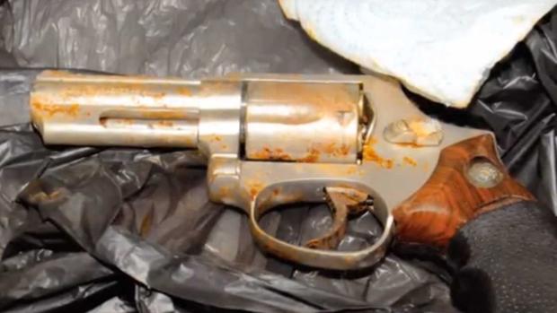 Jon Garner murder weapon