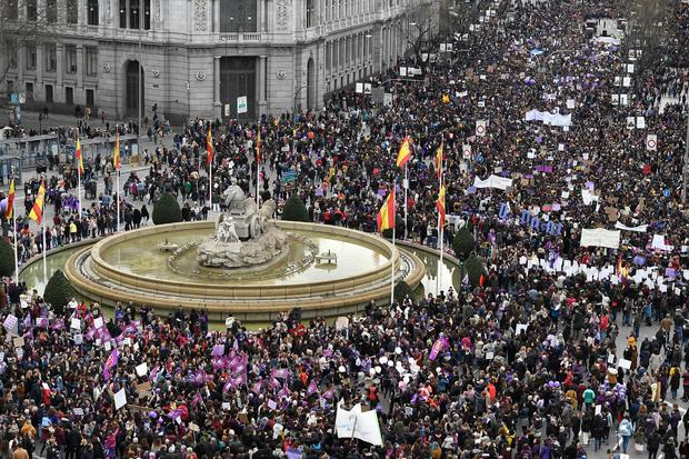 International Women's Day 2020 — Madrid