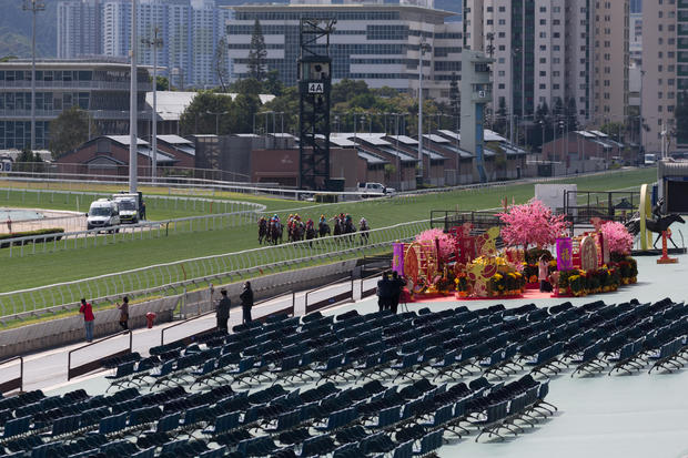 Chinese New Year Raceday 2020 at Sha Tin Racecourse