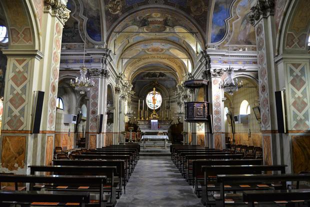 Coronavirus outbreak in Turin, Italy