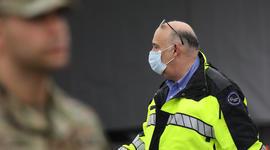 New York Gov. Cuomo Opens Coronavirus Testing Area In New Rochelle Park