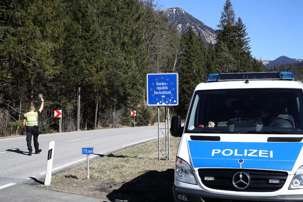 Germany Tightens Borders In Effort To Reign In Coronavirus Spread
