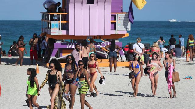 Miami Beach Reacts To Coronavirus By Shutting Down Beaches To Limit Spring Break Gatherings