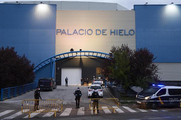 Palacio de Hielo used as morgue in Spain — coronavirus