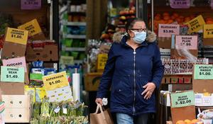 Grocery workers on the frontlines of the coronavirus pandemic