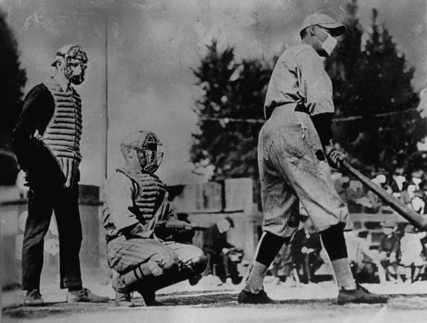 Unident. baseball players, one batting & one catch