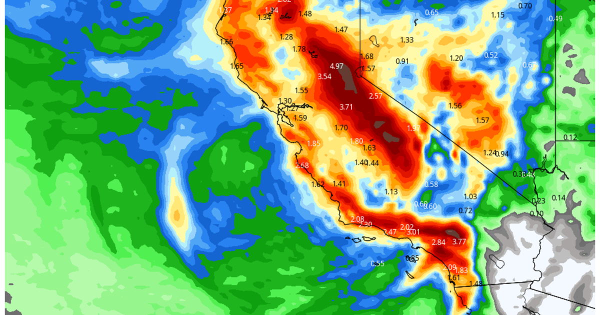 Large and slow-moving storm moves toward Southern California