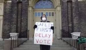 Wisconsin holds primary despite pandemic