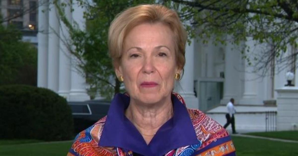 "Dr. Birx reacts to Trump slamming WHO, explains delay in calling virus ""global pandemic"""