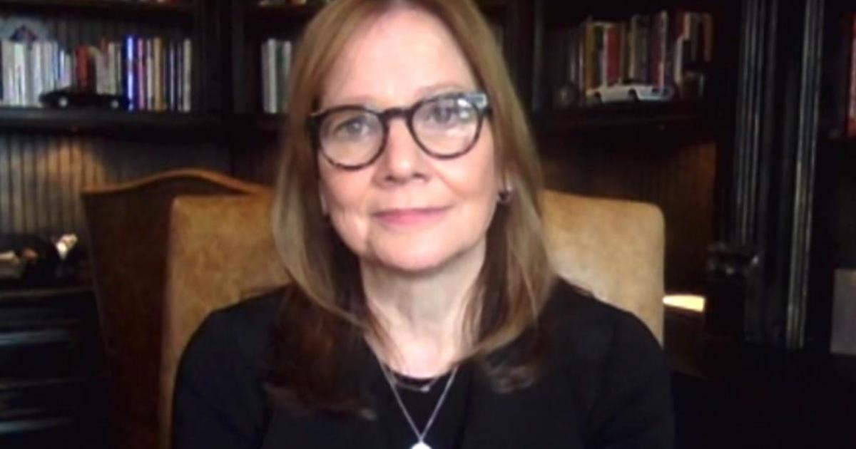 GM CEO says suppliers have `moved mountains` as...