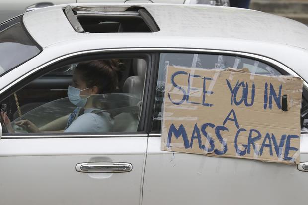 Tennessee coronavirus protest