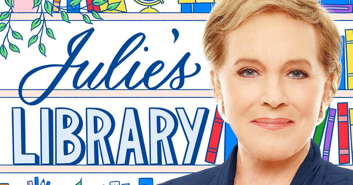 """Photo of Julie Andrews' """"practically perfect"""" book podcast   cbssunday"""