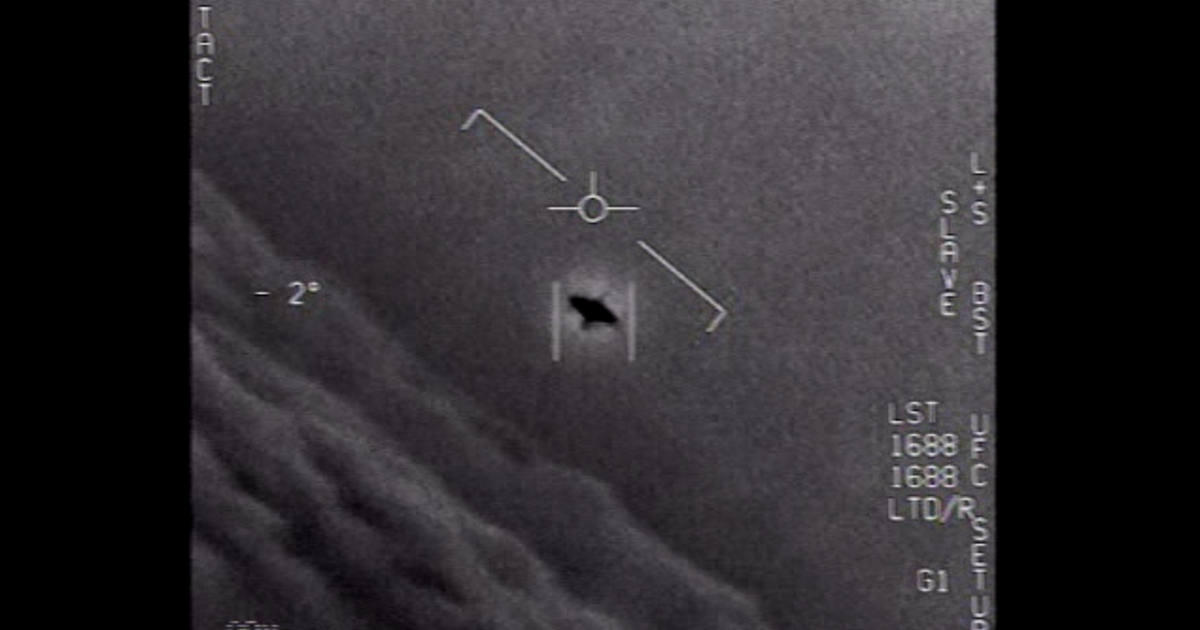 """Pentagon formally releases 3 Navy videos showing """"unidentified aerial phenomena"""""""