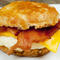 North Carolina — Bacon, egg and cheese biscuit