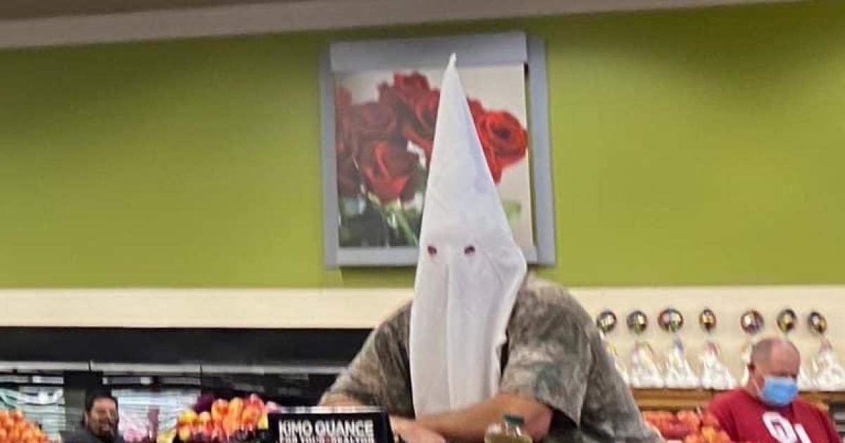 California Man Who Wore KKK Hood as Face Mask Won't Face Charges