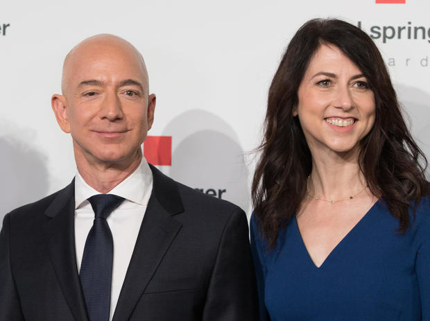 MacKenzie Bezos billionaire richest