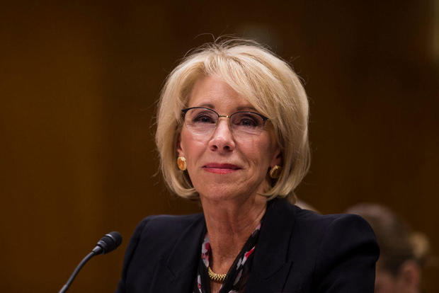 Education Secretary Betsy DeVos Testifies To Senate Committee On Department's Budget