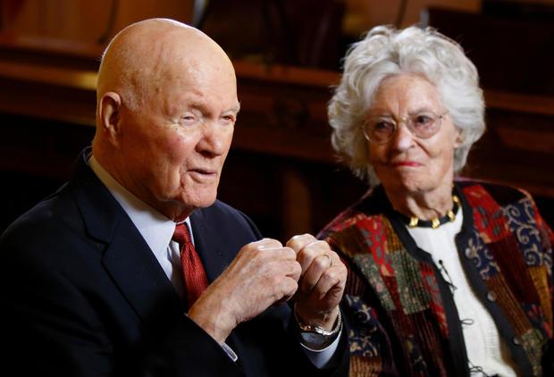 John and Annie Glenn Medal