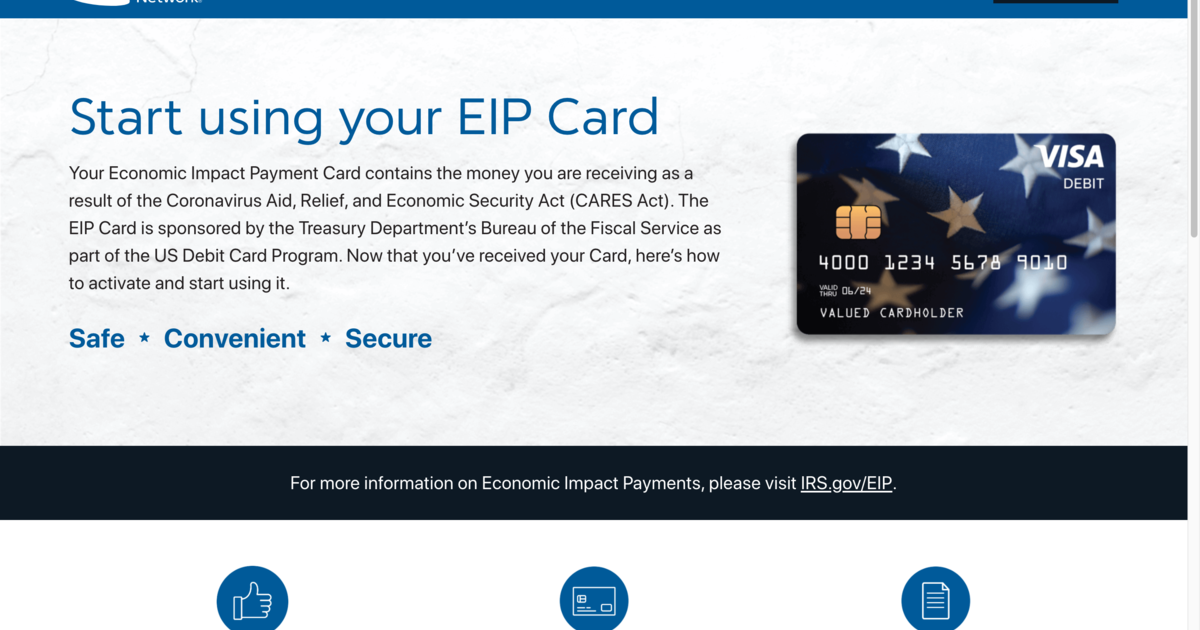 Stimulus checks: Prepaid debit cards come with fees and privacy strings attached