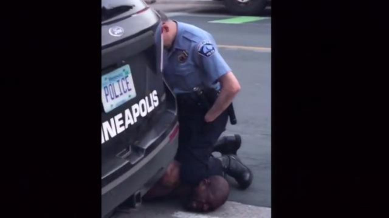 Black man dies after Minneapolis police officer pins him to the ...