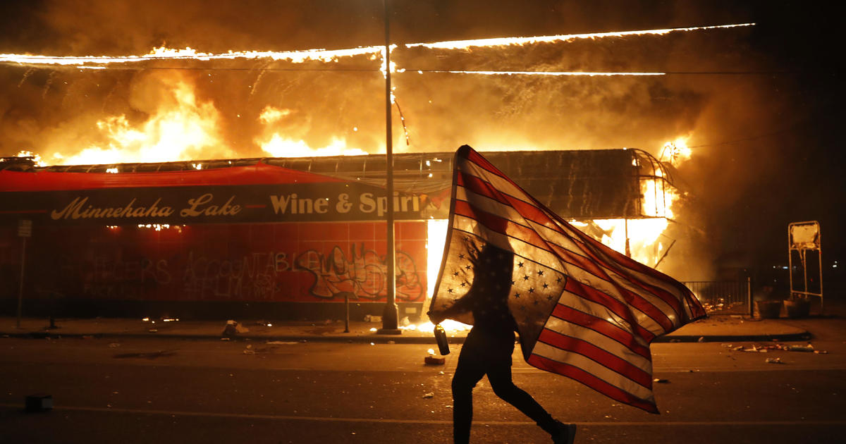 Protests nationwide over George Floyd's death as Minneapolis burns