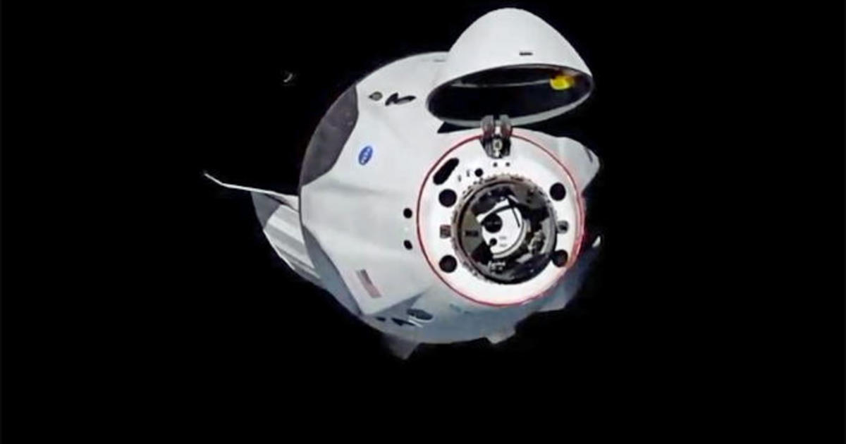 SpaceX Crew Dragon chalks up picture-perfect space station docking