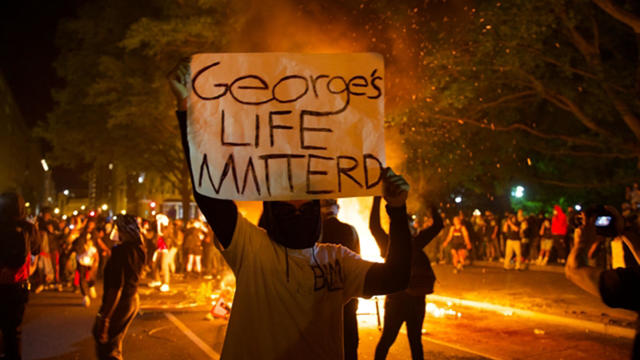 Protests erupt over killing of George Floyd