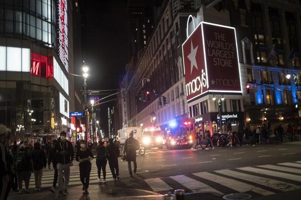 APTOPIX America Protests New York
