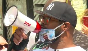 """Terrence Floyd says looting won't """"bring my brother back"""""""