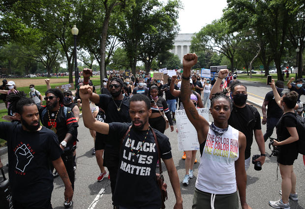 Black Lives Matter Protests Held In Cities Nationwide