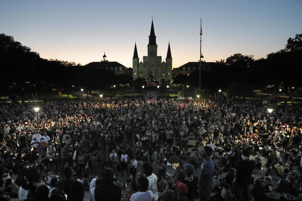 America Protests New Orleans