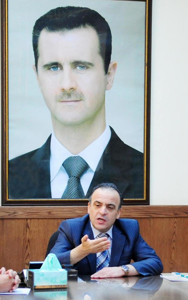 SYRIA-CONFLICT-POLITICS-GOVERNMENT