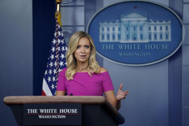 Press Secretary Kayleigh McEnany Briefs White House Press