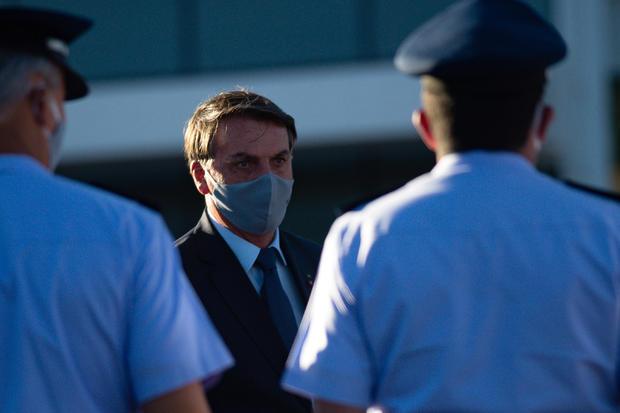 Bolsonaro Inaugurates the Main Spacial Operations Center (COPE-P) Amidst the Coronavirus (COVID - 19) Pandemic