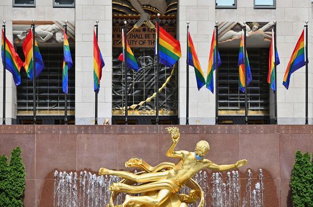 Rockefeller Center — Gay Pride 2020