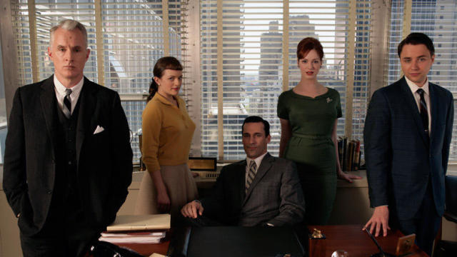 """Mad Men"" Black & Red Ball"