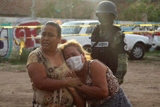 24 Shot Dead In Attack On Drug Rehab Center In Mexico Cbs News