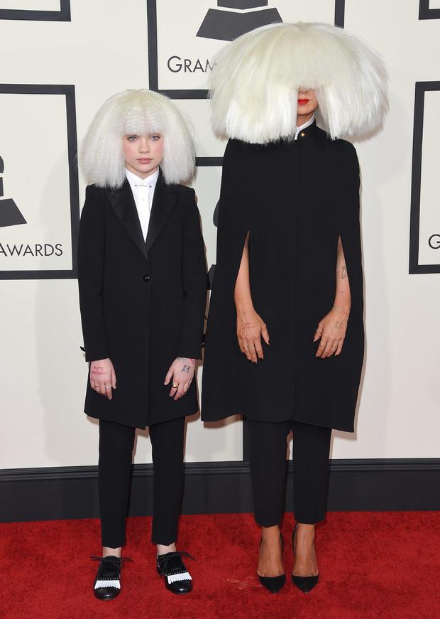 Sia and Maddie Ziegler: Twinning