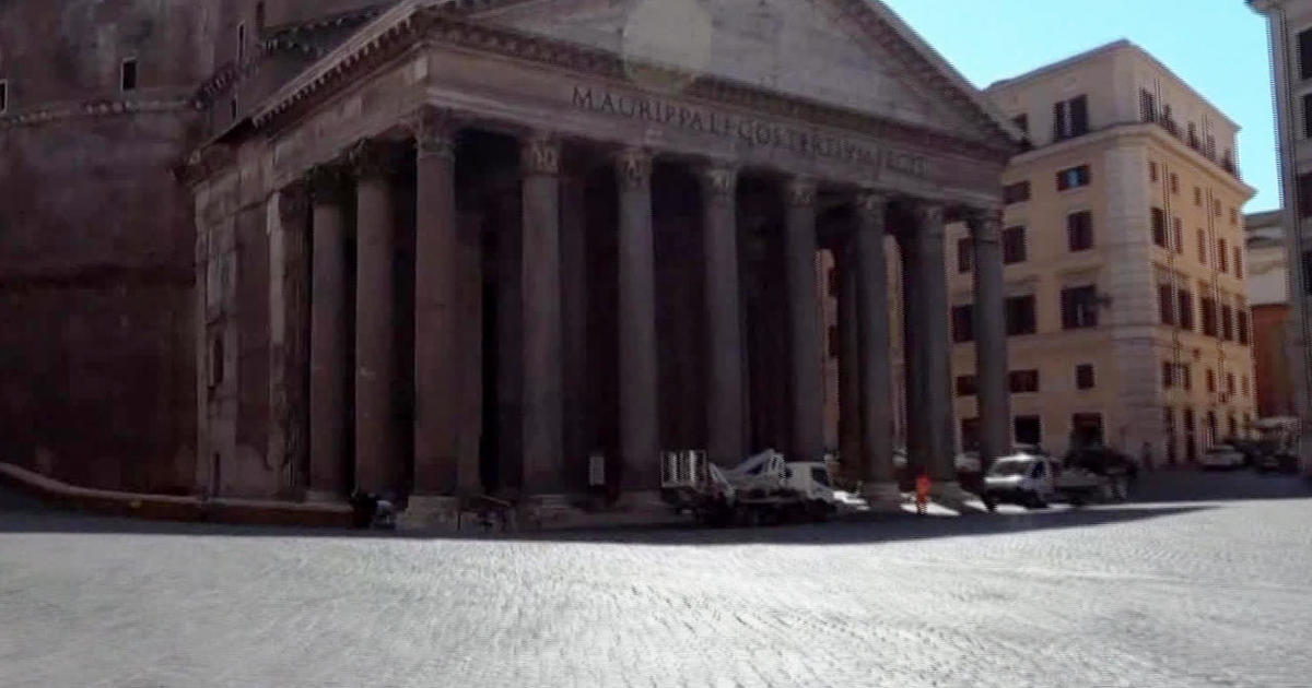 Rome`s empty streets reveal a tourism industry in...