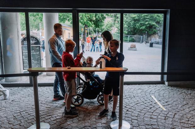 SWEDEN-CULTURE-MUSEUM-HEALTH-VIRUS