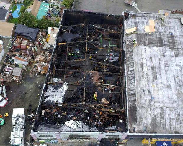 """Ghost Ship"" warehouse fire — Oakland, California"
