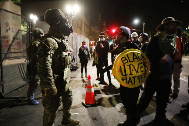 Portland Protests Continue Unabated Despite Federal Law Enforcement Presence