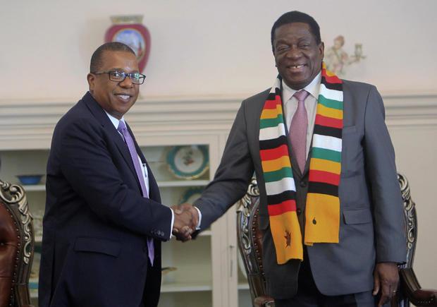 America Protests Zimbabwe