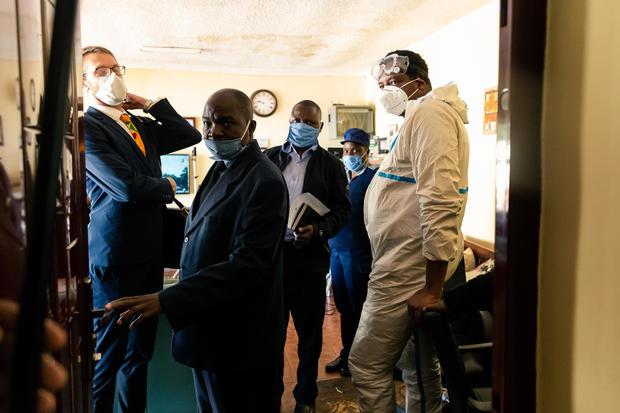 ZIMBABWE-POLITICS-MEDIA-ARREST