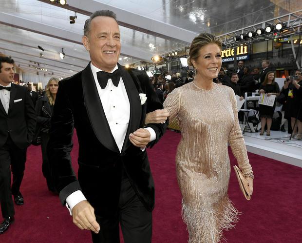 Tom Hanks Rita Wilson Joe Biden