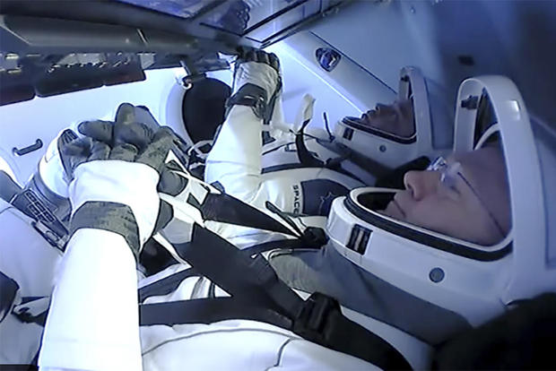 SpaceX — astronauts return splashdown Gulf of Mexico
