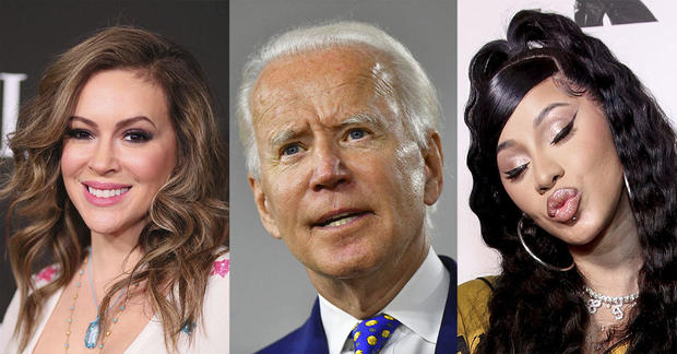 Celebrities who support Joe Biden for president