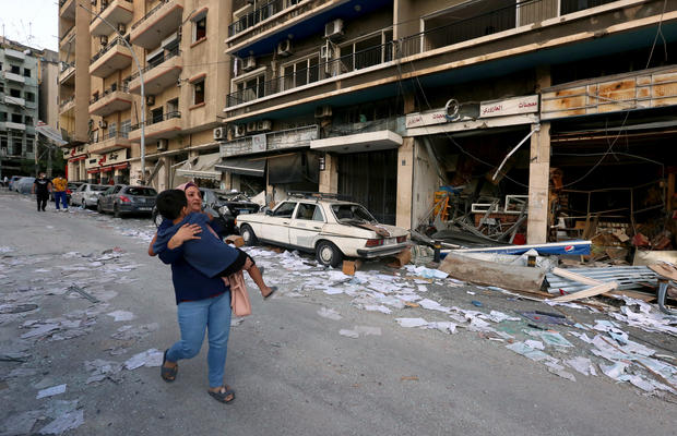 Aftermath of Beirut's deadly blast