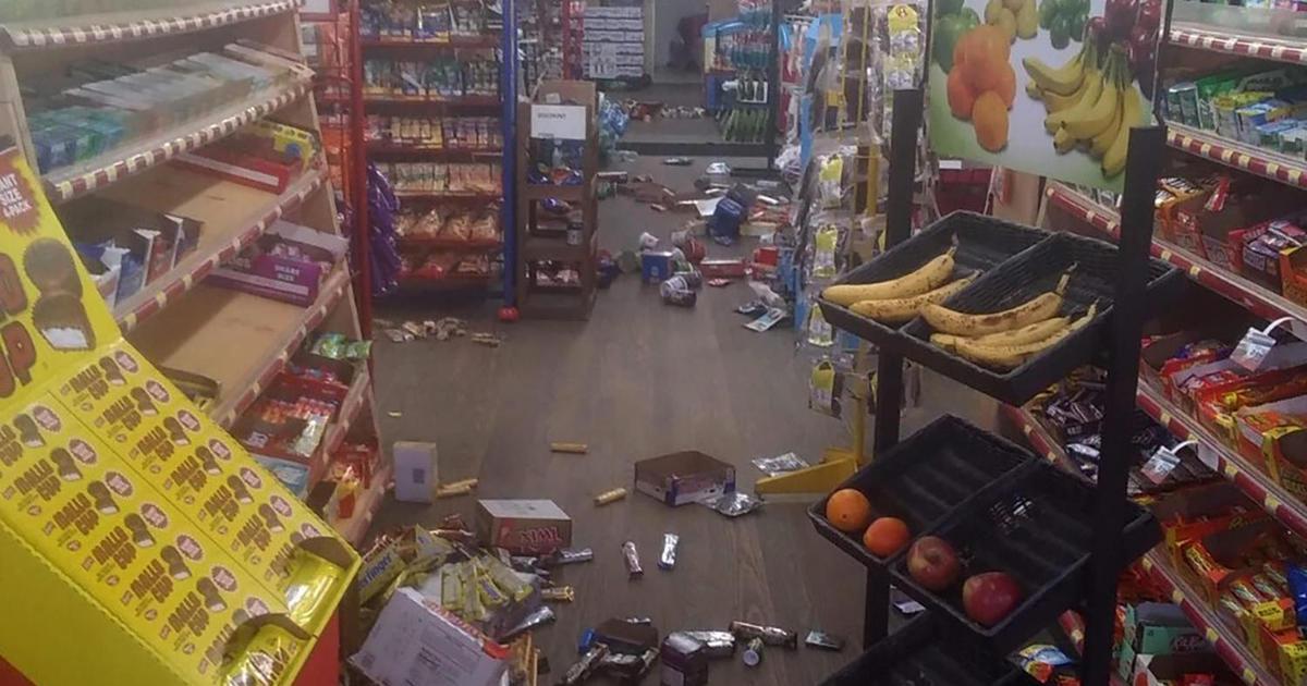5.1 magnitude earthquake shakes North Carolina and Georgia – CBS News